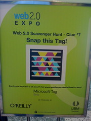 Microsoft Tag scavenger hunt contest