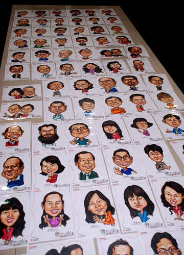 Caricatures for Toshiba - 3