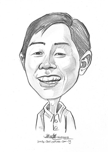 caricature for Hello Technology - 17