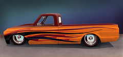 1967 C10 Chevy Truck Rendering (RedneckNparadise) Tags: c10 chevyc10 guiltycustoms 1967c10chevytruck