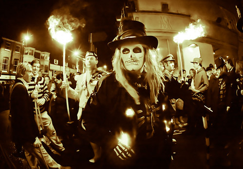 lewes bonfire night 2010