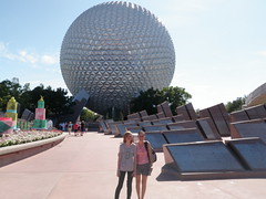 Nadine and Kelsea at Epcot