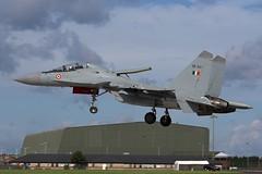 indianarrival4 (MichaelHind) Tags: force indian air indra su30 waddington sukhoi mki danush