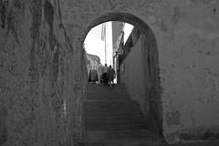 alghero bn (kikkedikikka) Tags: sardegna street italy white black strada italia places bianco borgo nero alghero rgscastelli rgsnatura rgsscorci sardiniargspaesaggio
