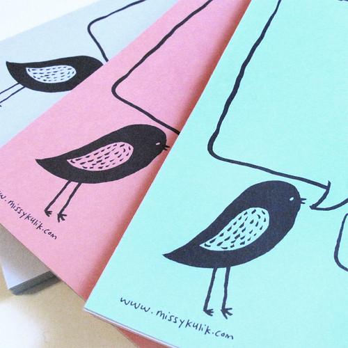 Bird Talk Notepad