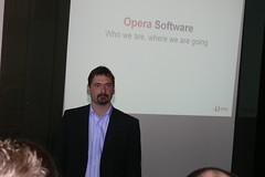 Jon S. von Tetzchner PRESENTATION ON OPERA BACKSTAGE WARSAW