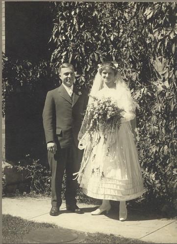 Ralph n Norma wedding 9.2.1916