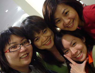 Suanie, Pinky, Anzi, Fireangel