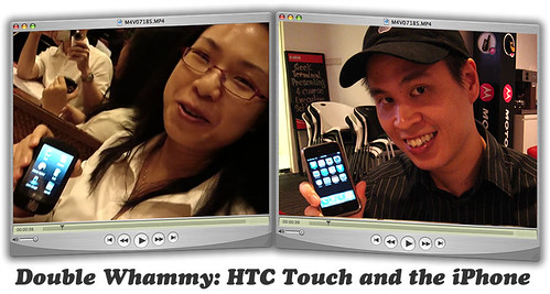 HTC touch and the iPhone