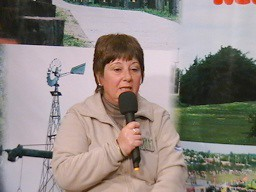 Mabel Sanchez Dir. del IPEM Nº71