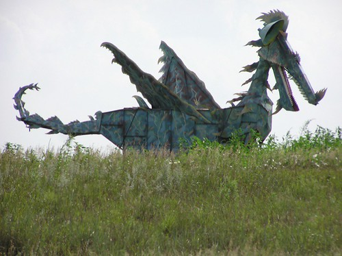 Dragon on the Plains