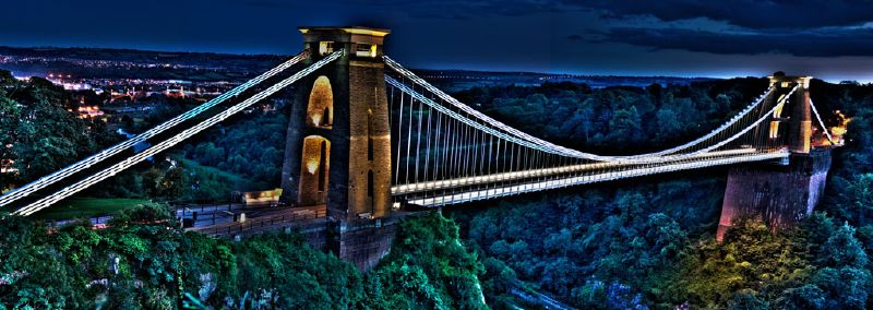 HDR Bristol Clifton Suspension Bridge