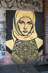 NYC - Meatpacking District: OBEY Giant - Arab ...