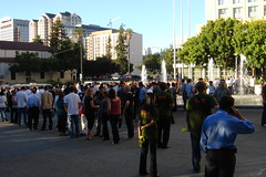 Line for Google Dance