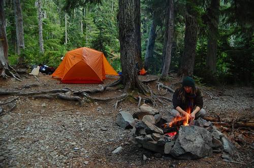 Cozy campsite