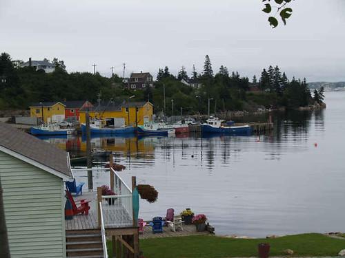 Fishing Town on Aspotagan Peninsula