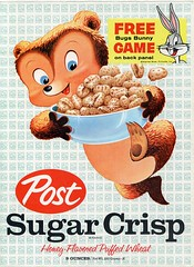 Sugar Crisp cereal box