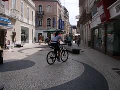 Patrulhamento policial em bicicleta nas Caldas da Rainha