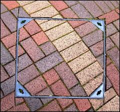 Square (tina negus) Tags: urban abstract pavement minimal lincolnshire grantham wowiekazowie coolestphotographers