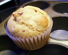 Cranberry Egg Nog Muffins (yummysmellsca) Tags: food cooking fruit breakfast recipe dessert baking blog sweet rich blogger sugar celebration cranberries snack vegetarian blogged spicy recipes muffin 2009 eggnog craisins decadent whatsmellssogood