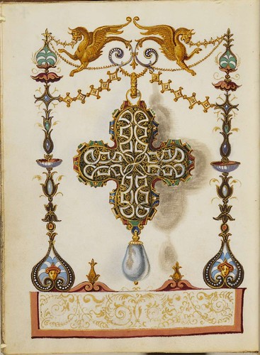 Jewel Book of the Duchess Anna of Bavaria (1550s) s