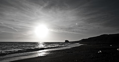 Black And White Photography Beach Sunset Sunset Sun White Black