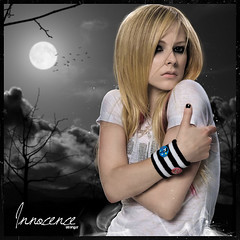 Avril Lavigne: Innocence (~Stranger) Tags: white dark thing stranger best innocence damn pure avril lavigne the strangersoldier
