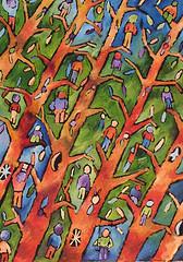 alberi (Roberto Valenzano) Tags: alberi quadro colori artista quadri espressionismo dipinto astrattismo atrte