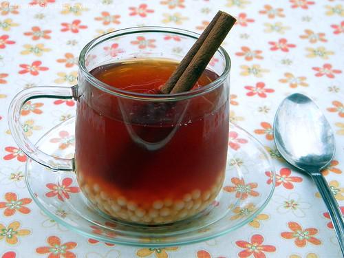 Iced Cinnamon Spiced Bubble Tea