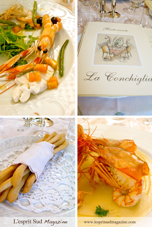 La Conchiglia: Seafood paradise (Local langoustines and prawns)