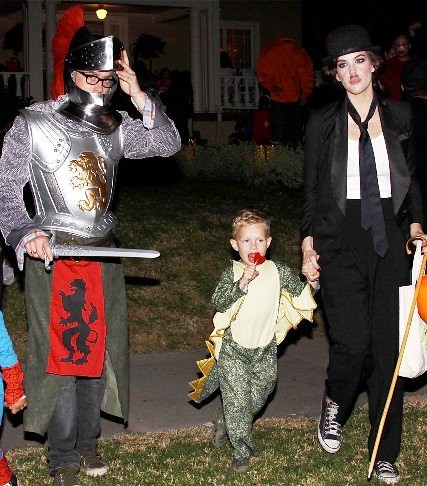 Liv Tyler And Son Milo Out Trick Or Treating In Beverly Hills by kinovitamin