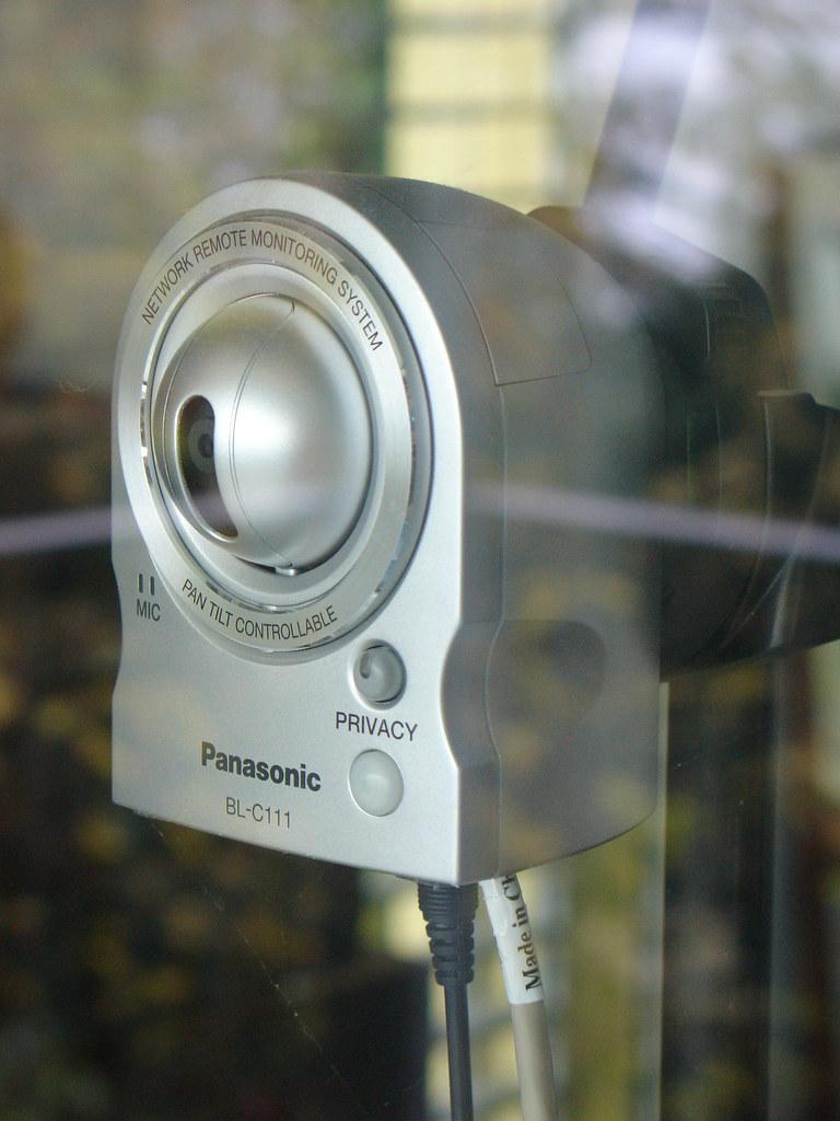 Panasonic BL-C111 IP Network Camera (Webcam Orselina/Locarno)