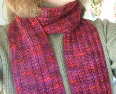 Ravelry One Row Handspun Scarf Pattern By Stephanie Pearl