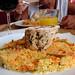 couscous + pollo relleno