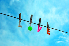 Online Love (boopsie.daisy) Tags: sky color love clouds pretty sweet letters clothesline lollipop abigfave