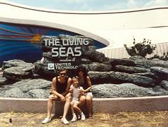 1986- Epcot- The Living Seas! (inrainbows84) Tags: family orlando epcot disney disneyworld wdw waltdisneyworld 1986 epcotcenter oldfamilyphotos thelivingseas livingseas