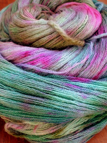 Estrella Colorway Handpainted Laceweight Yarn 2