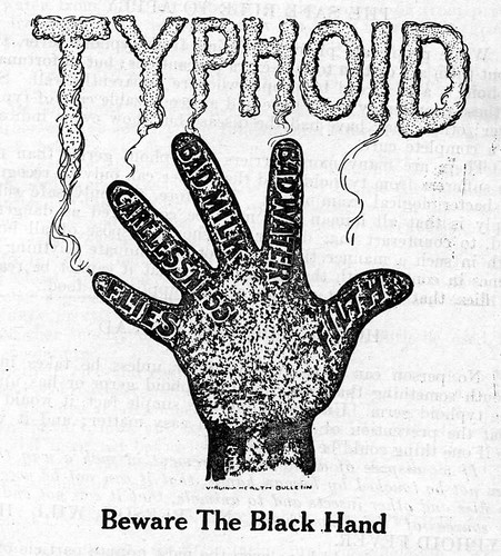Typhoid: Beware The Black Hand | Flickr - Photo Sharing!