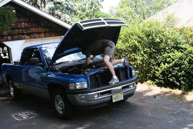 truck force air pickup 1999 aem dodge ram brute intake