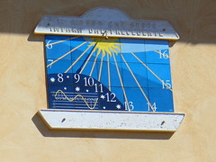 Meridiana, Sundial, Sonnenuhr - by pizzodisevo (first of all, my health)