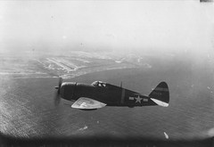 Republic P-47D Thunderbolt over Saipan (afigallo) Tags: war republic pacific wwii ww2 jug thunderbolt p47 republicp47d