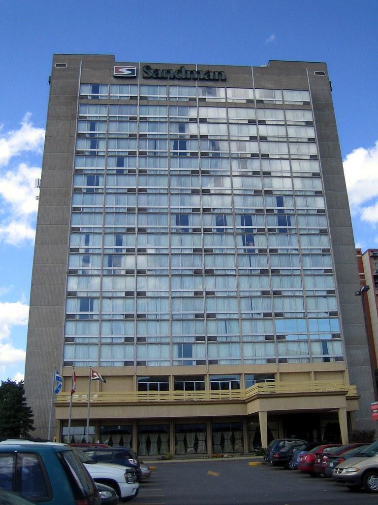 Sandman Hotel, Longueuil Quebec