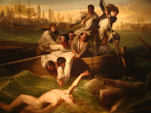 WATSON AND THE SHARK by John Singleton Copley