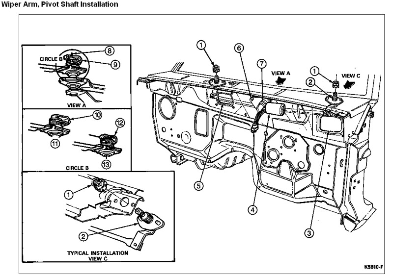 State Farm Windshield Replacement >> Windshield Wiper Motor needs Replacement...how?   Ford ...