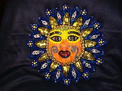 Sun Indian Mosaic
