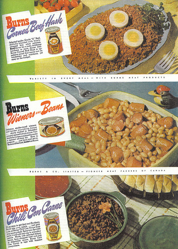 Vintage Ad #330: Hash, Franks and Chili