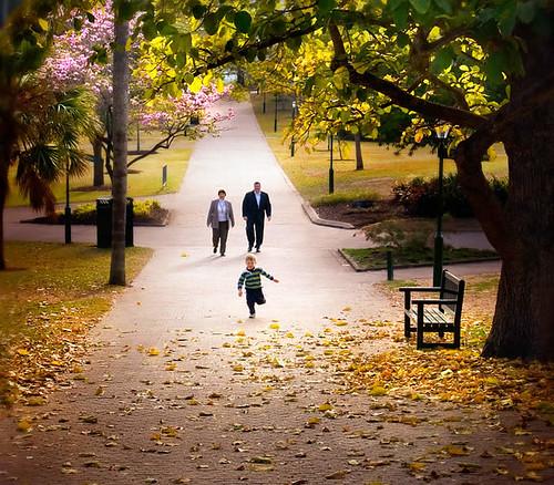 É a  primavera...Que vem chegando com a empolgação de uma criança correndo no parque