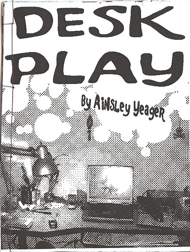 Cover scan of Ainsley Yeager's zine