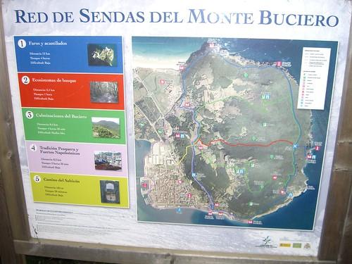 Mount Buciero Map