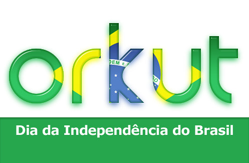 Orkut Brazil Independence Doodle